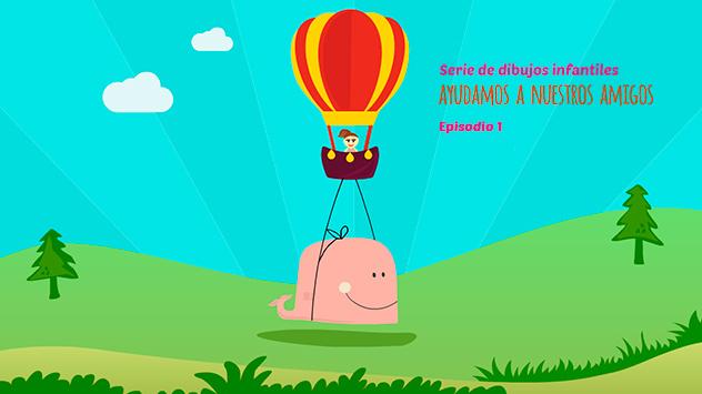 Proyecto corto dibujos animados Ayudamos a nuestros amigos realizado en el estudio de animación Novi Animation