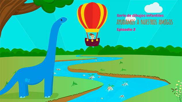 Proyecto corto dibujos animados Ayudamos a nuestros amigos 2 realizado en el estudio de animación Novi Animation