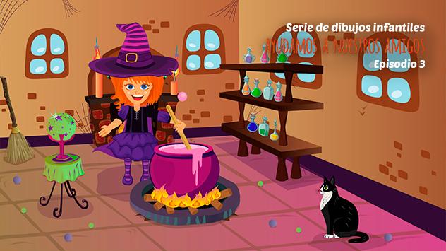 Animación, capítulo 4 de la serie de dibujos animados realizada para El Parque de los Dibujos