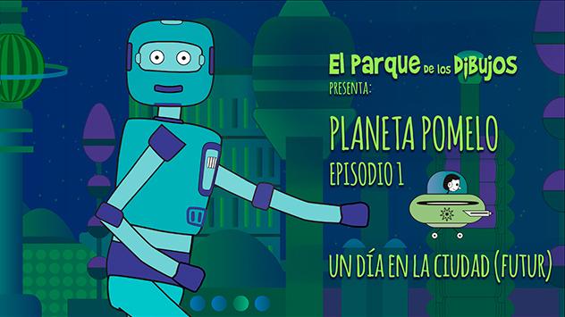 Proyecto Planeta Pomelo realizado en el estudio de animación Novi Animation