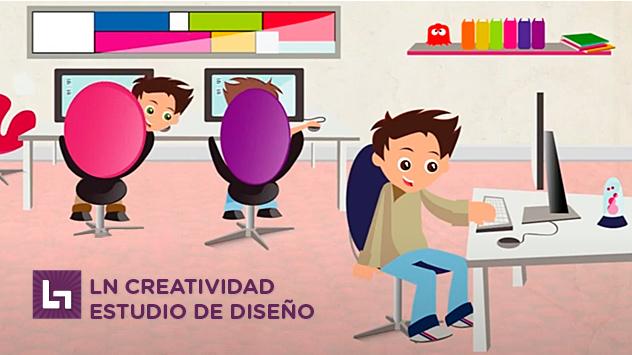 Proyecto de animación Ln Estudio de diseño realizado en el estudio de animación Novi Animation